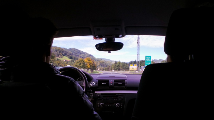 On the way to Grüner See