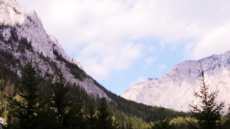 Hochschwab Mountains as viewed from Grüner See